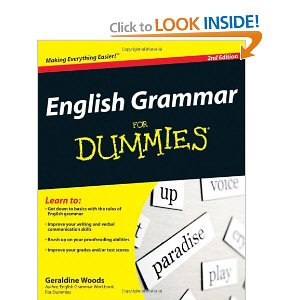 english grammer for dummies